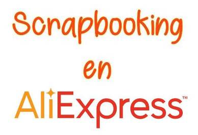 Materiales Scrapbooking en Aliexpress