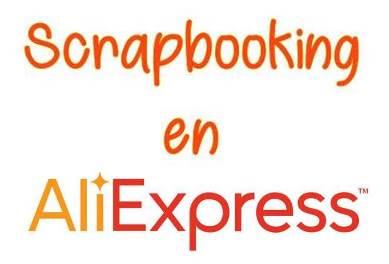 Materiales Scrapbooking en Aliexpress